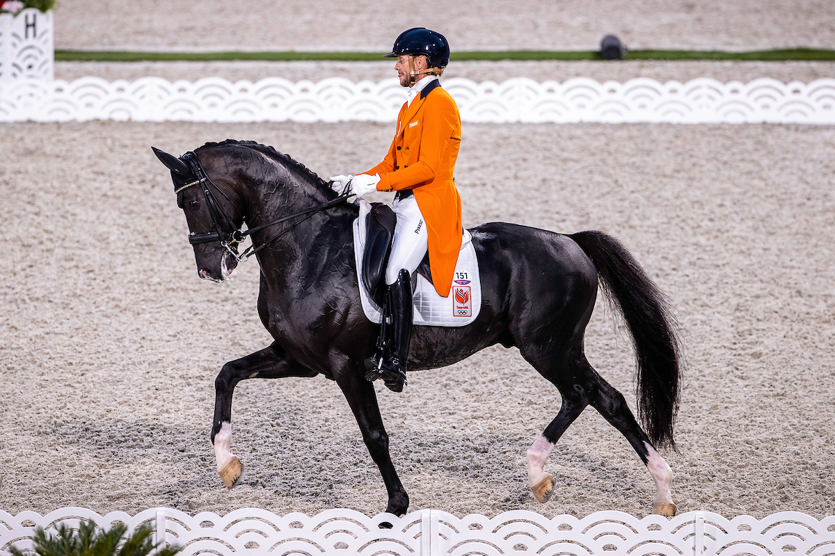 Netherlands and Jessica von Bredow-Werndl take the lead at Olympic Dressage Games