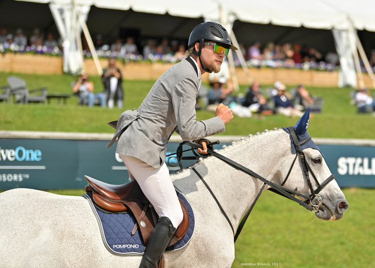 Karl Cook and Caillou 24 capture $137,000 Meijer Grand Prix CSI3* win at Great Lakes Equestrian Festival