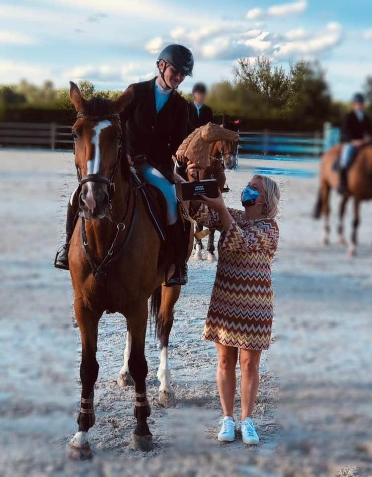 Louise Lenaerts schittert tijdens Gouden Laars Zoutleeuw