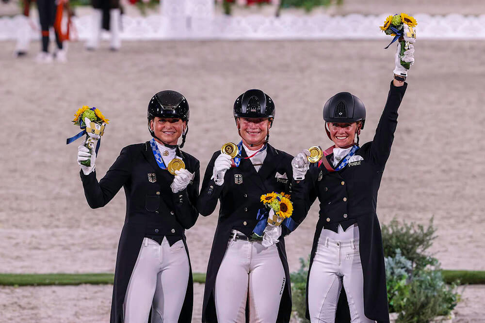 Germany takes Olympic Gold at dressage team championships