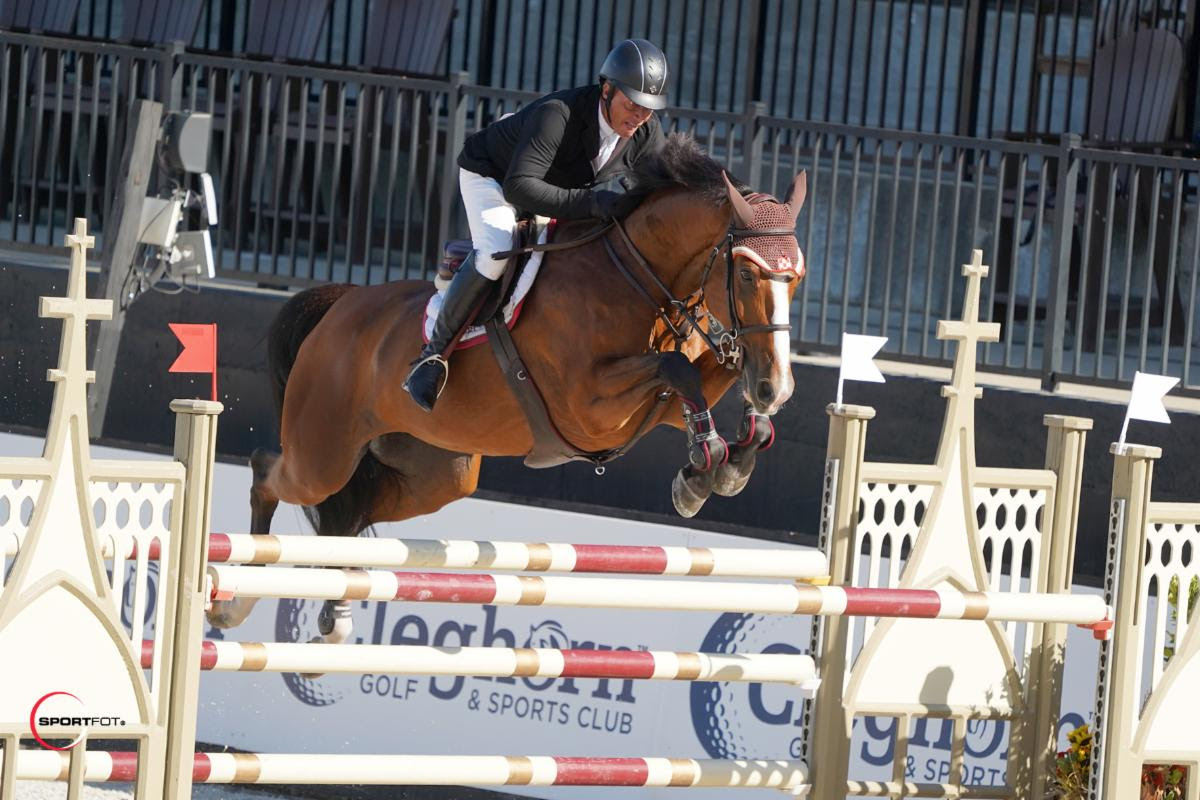 Todd Minikus and Amex Z Max Out to Win $37,000 Horseware Ireland Welcome Stake CSI 2*