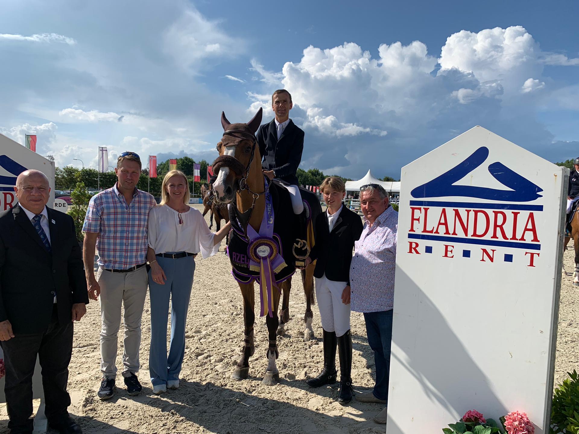 Belgische overwinning in CSI3* Grand Prix van Lier. Raijmakers derde