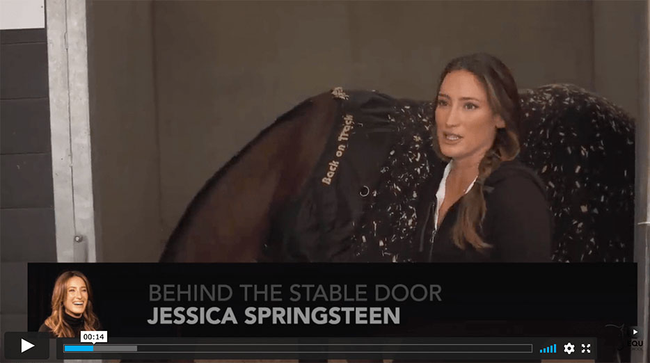 Behind the stable door with the CSI5* Grand Prix winner of Brussels ... Jessica Springsteen