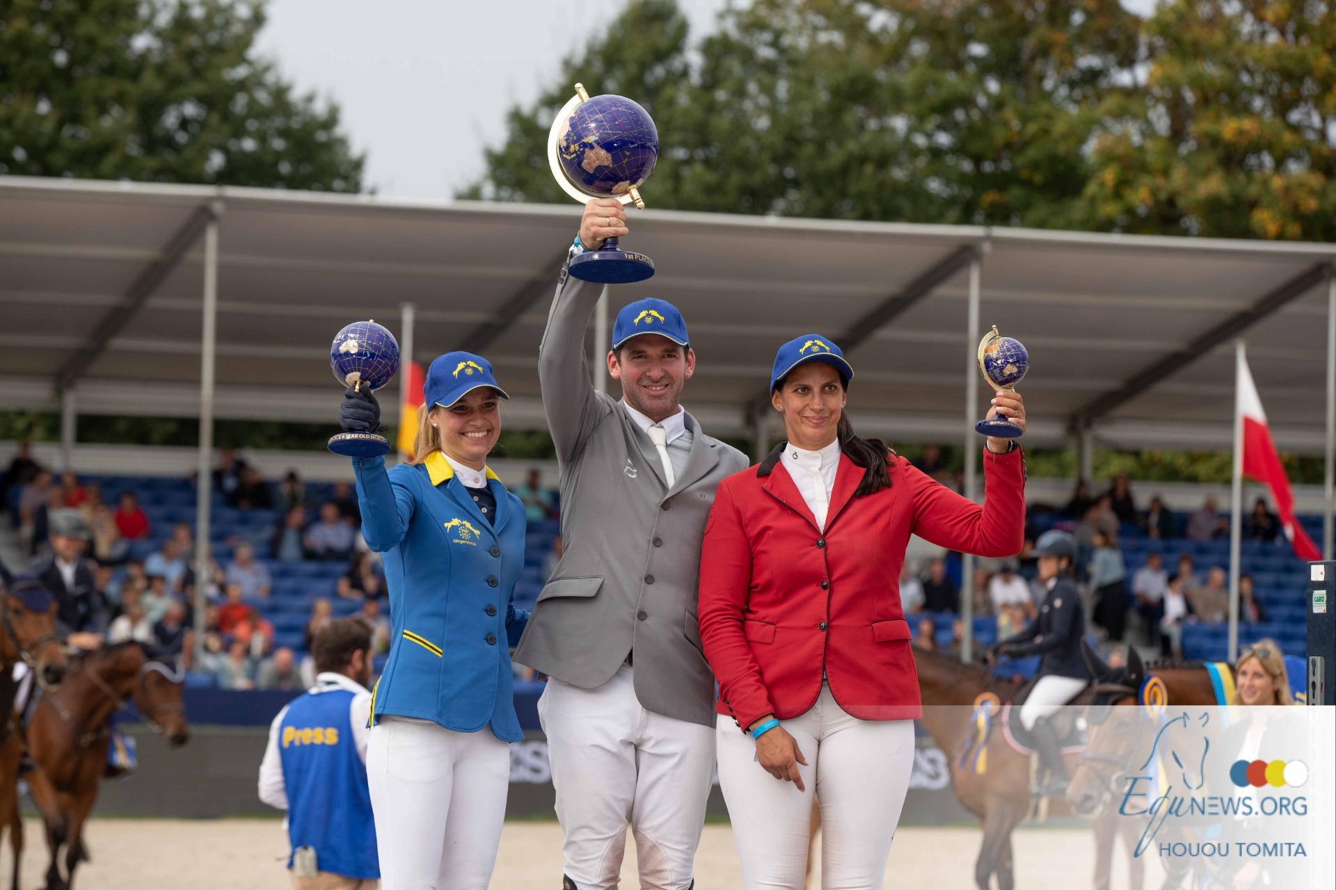 Weishaupt and Cornet-Oblensky stallion Coros world champion in the 6-year-olds