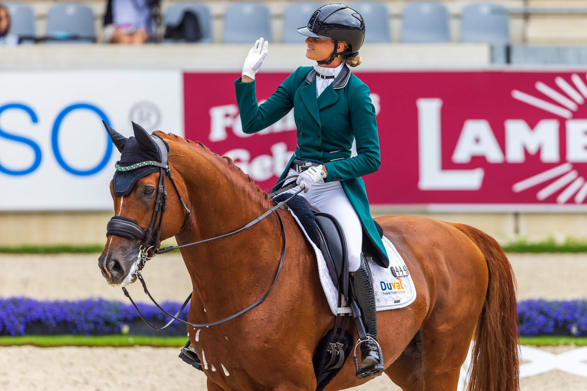 Dinja van Liere takes the win in CDIO5* Aachen, Germany in the lead in Nations Cup