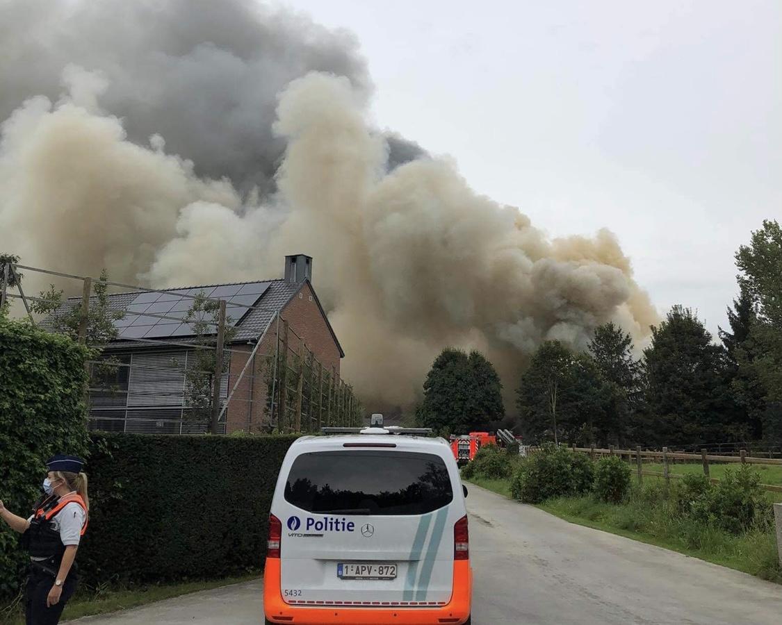 Hevige brand bij Wica Stables