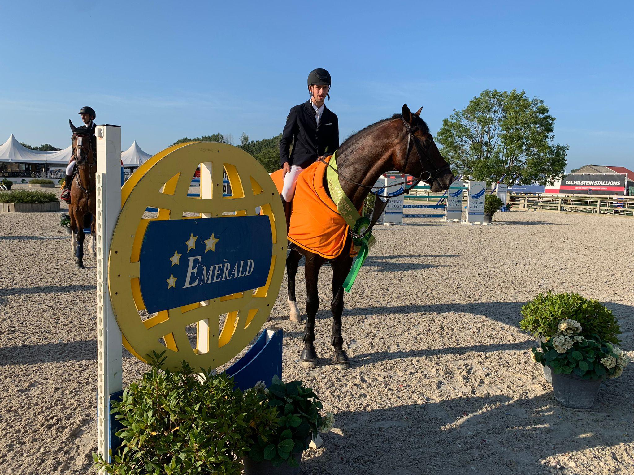 Victoire Grand Prix pour Roy Van Beek et Chacco Me Biolley à Lier, Top 5 pour Felicie Bertrand et Katja Haep