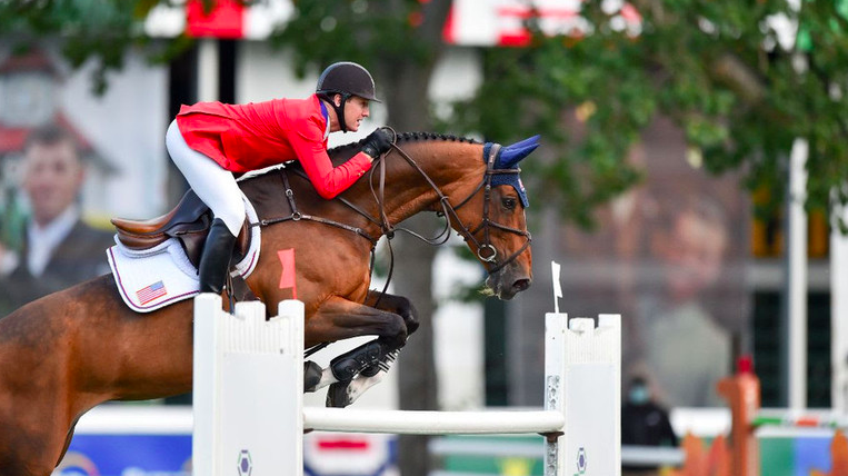 """McLain Ward and HH Azur win the Tourmaline Oil Cup at the Spruce Meadows 'Masters' : """"Azur has always been a fast horse"""""""