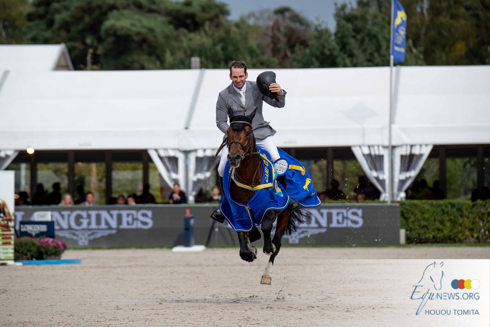 """Philipp Weishaupt: """"I hope that this victory will be good for his breeding career""""."""