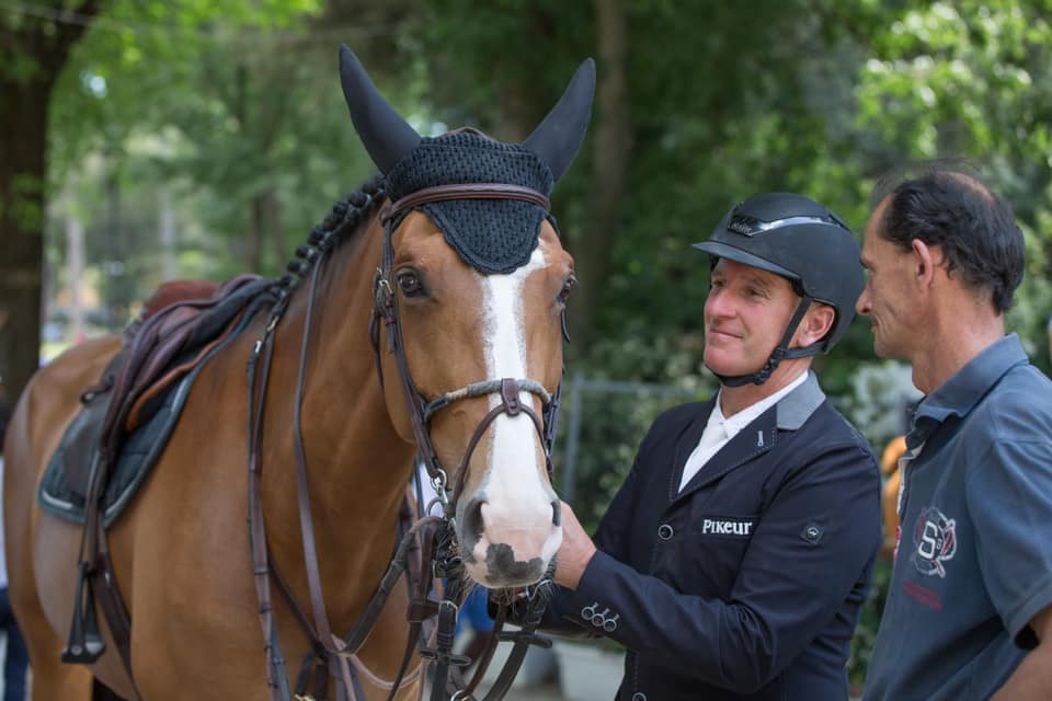 Sportive retirement for Bosty's Sangria du Coty