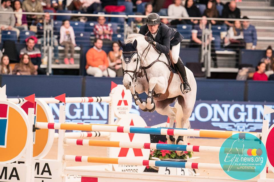 Gregory Wathelet and Coree dashed to victory in the World Cup of Leipzig