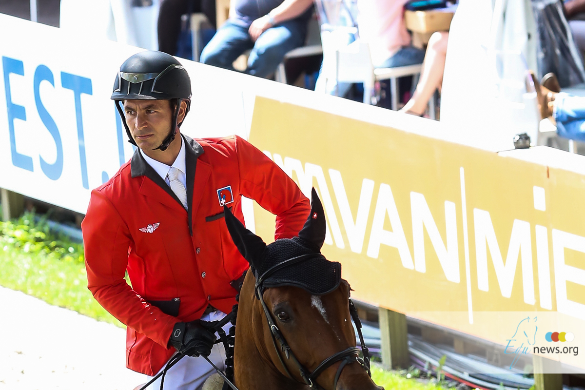 Steve Guerdat and Jos Verlooy are the number one show jumping riders