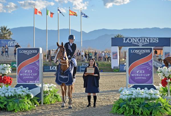 Ashlee Bond's WEG horse retires from the sport