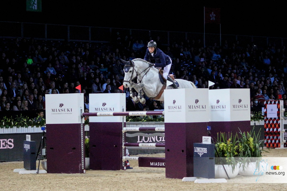 Martin Fuchs and Clooney conquer World Cup Lyon
