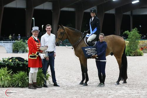 McKayla Langmeier Moves Up to Win George Morris Excellence in Equitation