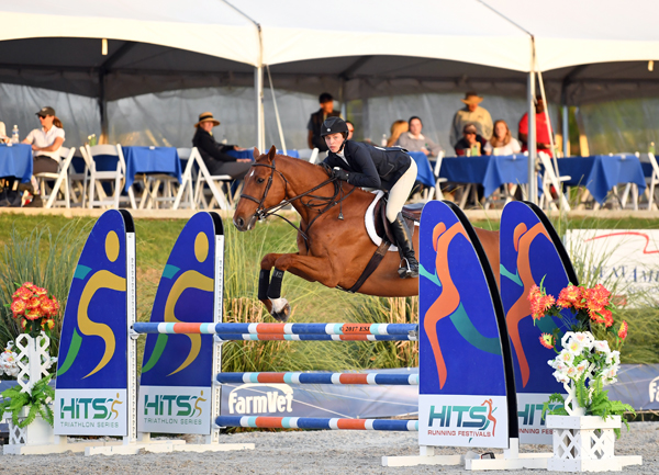 Adelaide Toensing Tops the Field in HITS Equitation Championship