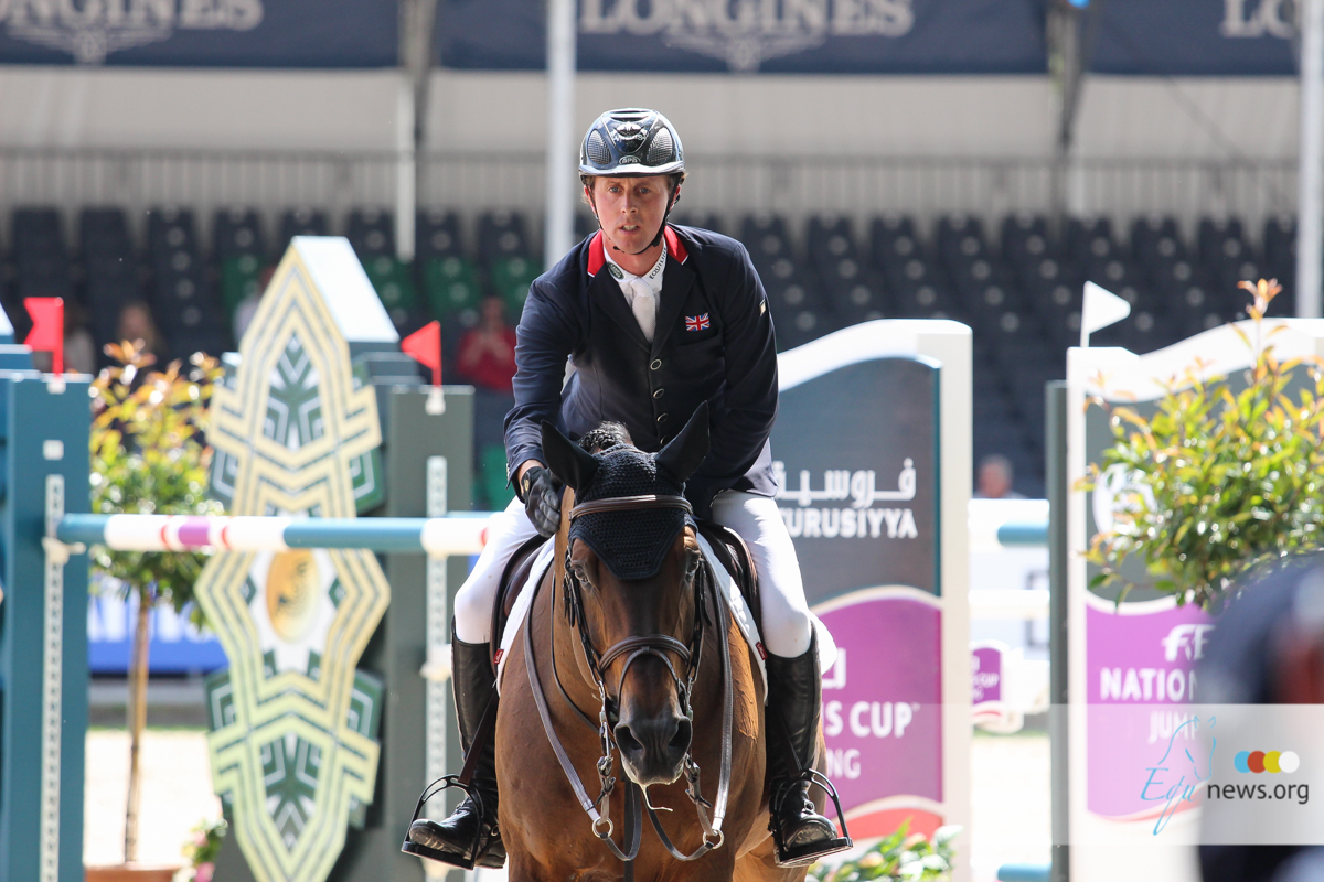 """Ben Maher: """"I can  give my horses some rest before we focus on Doha..."""""""