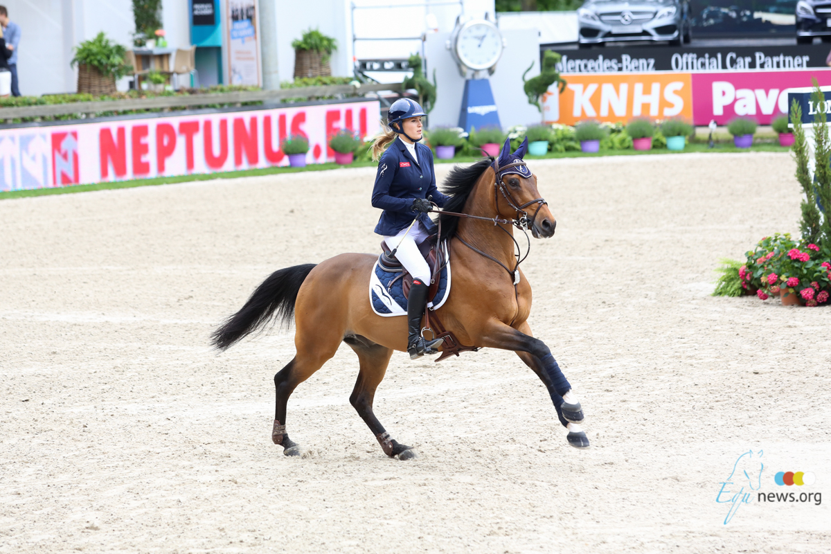 Fifth place for Jessica Mendoza in speed and powerclass Tryon