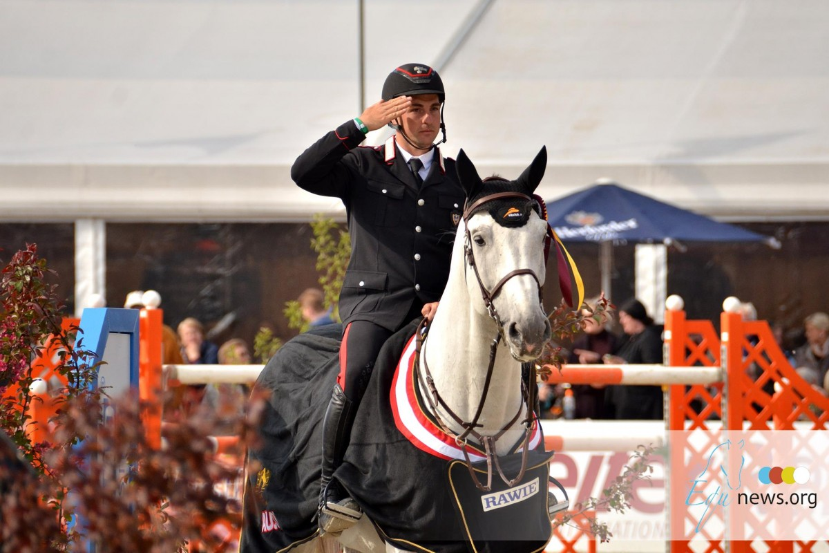 Who won the 1,50m-classes of Lausanne, Olomouc and Hickstead today?