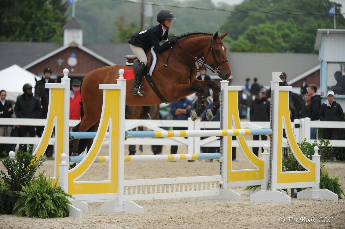 Taylor St. Jacques Triumphs in Equitation Divisions on Opening Day of 2017 Devon Horse Show