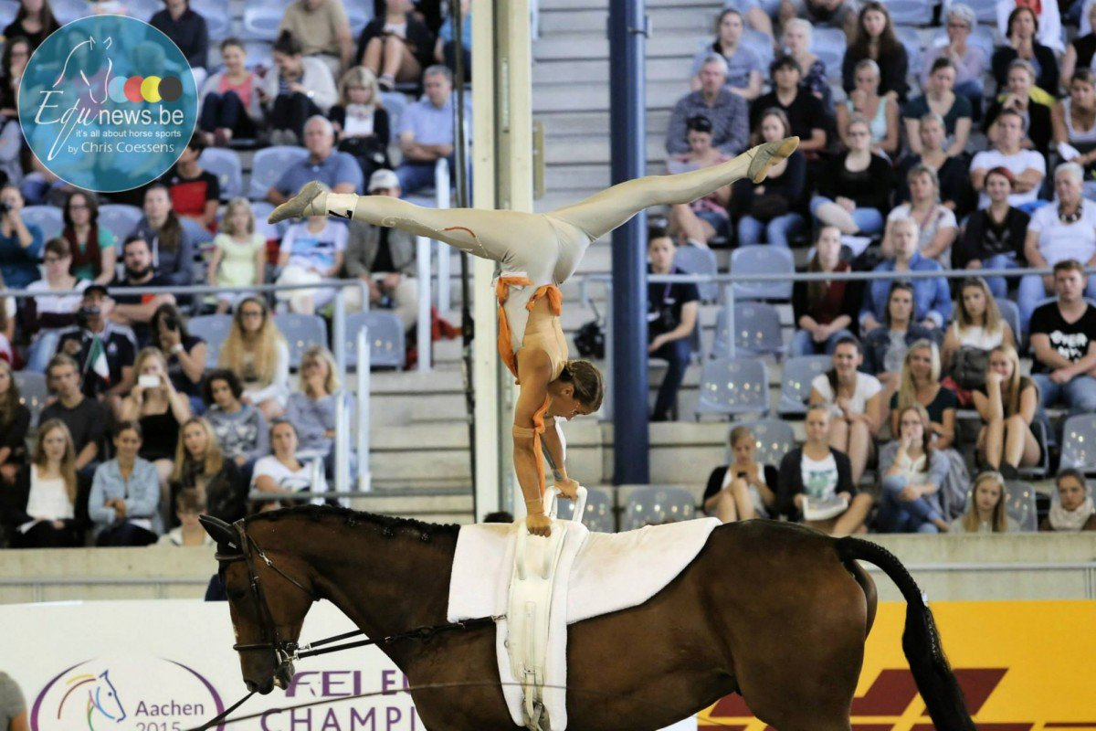 Canadian vaulting athletes earned top results, including multiple wins, at the CVI 3* Pacific Cup