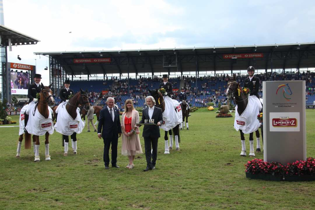 Nations Cup dressage CHIO Aachen goes to Germany