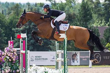 Canadian Olympian Amy Millar Masters CSI2* Caledon Premier