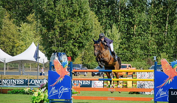 Conor Swail and Flower jump to glory in Langley's Worldcup Grand Prix
