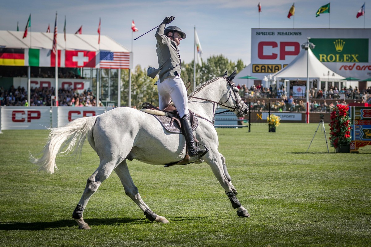 L.B. Convall stays with Ludger Beerbaum