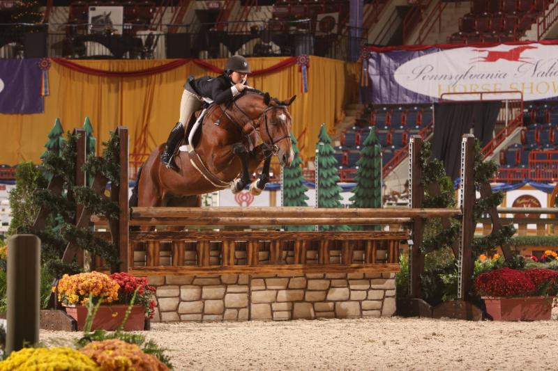Junior Hunter Champions Are Crowned   at The Pennsylvania National Horse Show