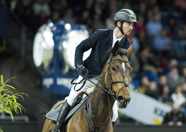 Steve Guerdat speeds to victory in Doha