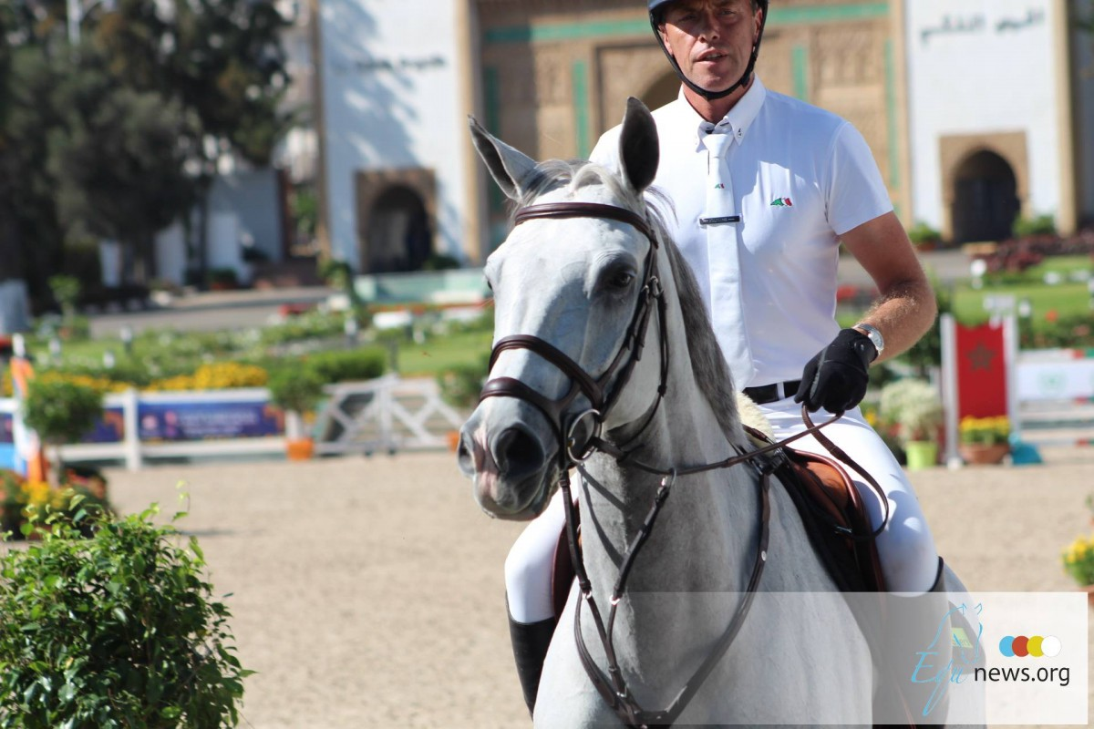 Dominique Hendrickx beats both Philippaerts brothers and Marc Dilasser in CSI3* 1m50 class Knokke Hippique