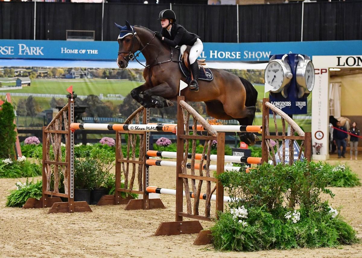 Jennifer Gates Claims $100,000 USEF U25 Show Jumping National