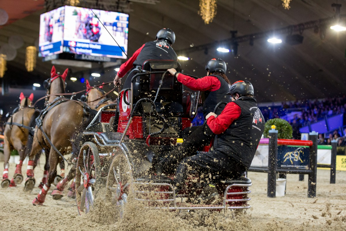 Swiss victory in warm-up for the World Cup Driving