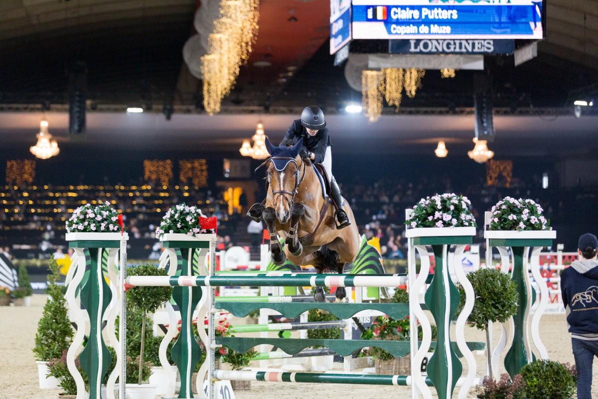 Belgium's Clair Putters unbeatable in Junior and Young Rider finale in Mechelen