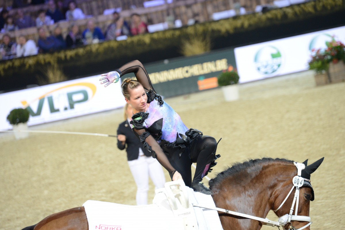 Knauf and Brüsewitz take World Cup Vaulting of Mechelen