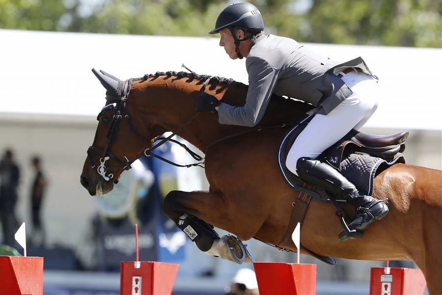 Ludger Beerbaum speeds to 1.60m victory in Doha