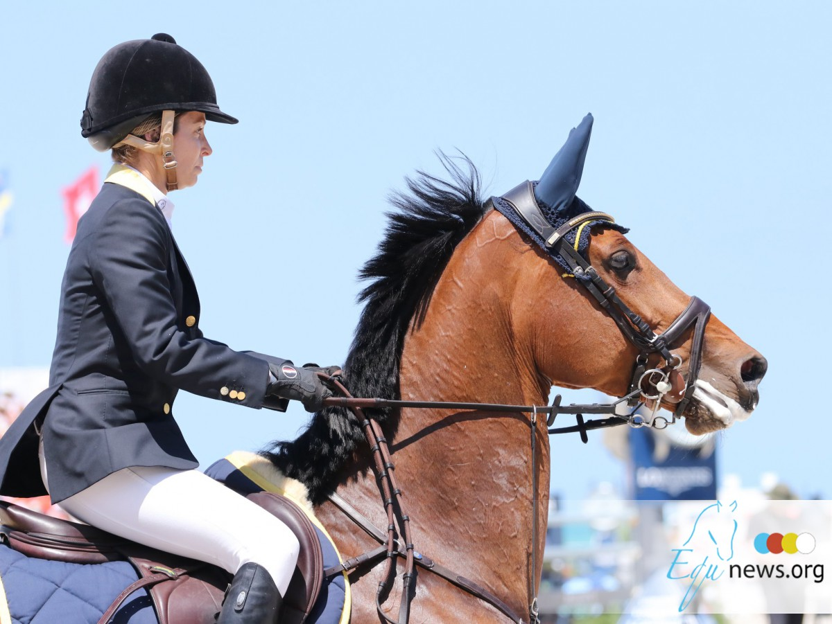 "Edwina Tops-Alexander in the lead of LGCT ranking. ""We're only half way there..."""