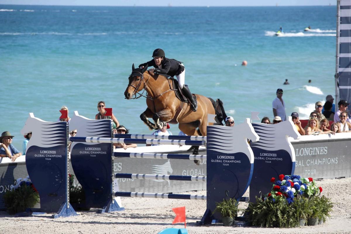 Split-second cliff-hanger sets scene ahead of Miami Beach showdown