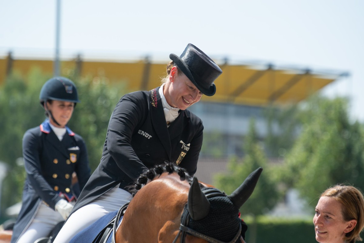 Isabell Werth rules as queen of dressage at the CHIO Aachen
