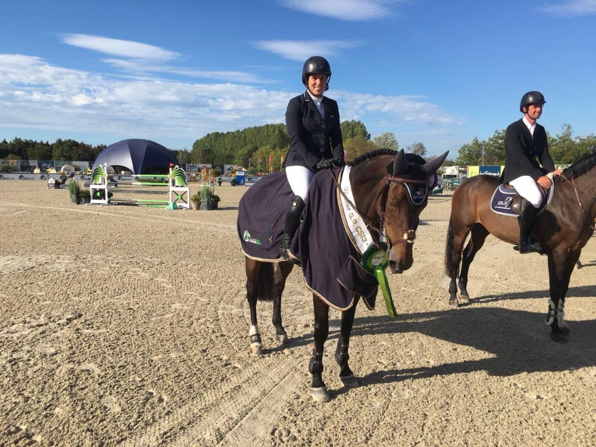 Julie Welles takes CSI3* Grand Prix victory in Lier