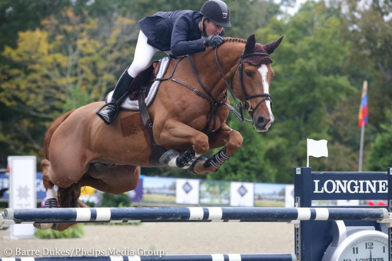 McLain Ward claims gold and bronze in American Gold Cup ranking class