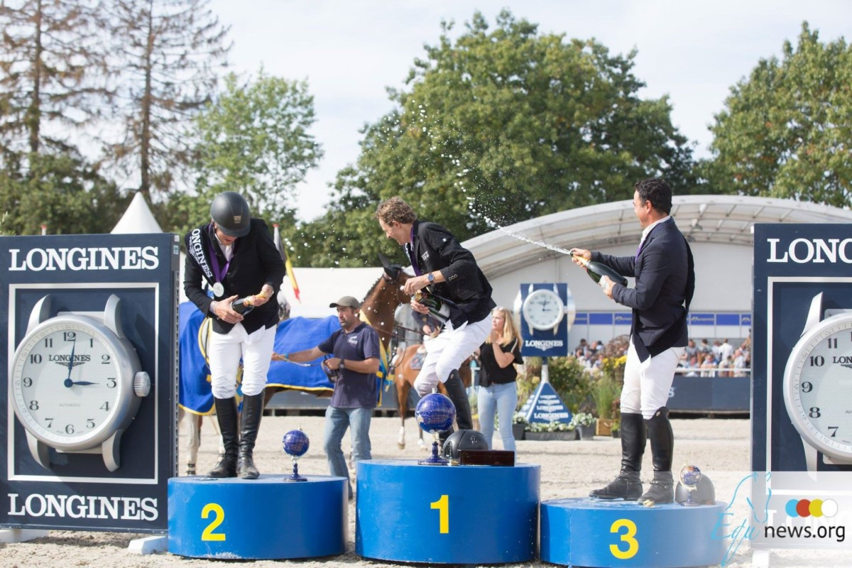 This week LIVE: Don't miss any of the jumping spectacle of Eschweiler, Lanaken and Opglabbeek!