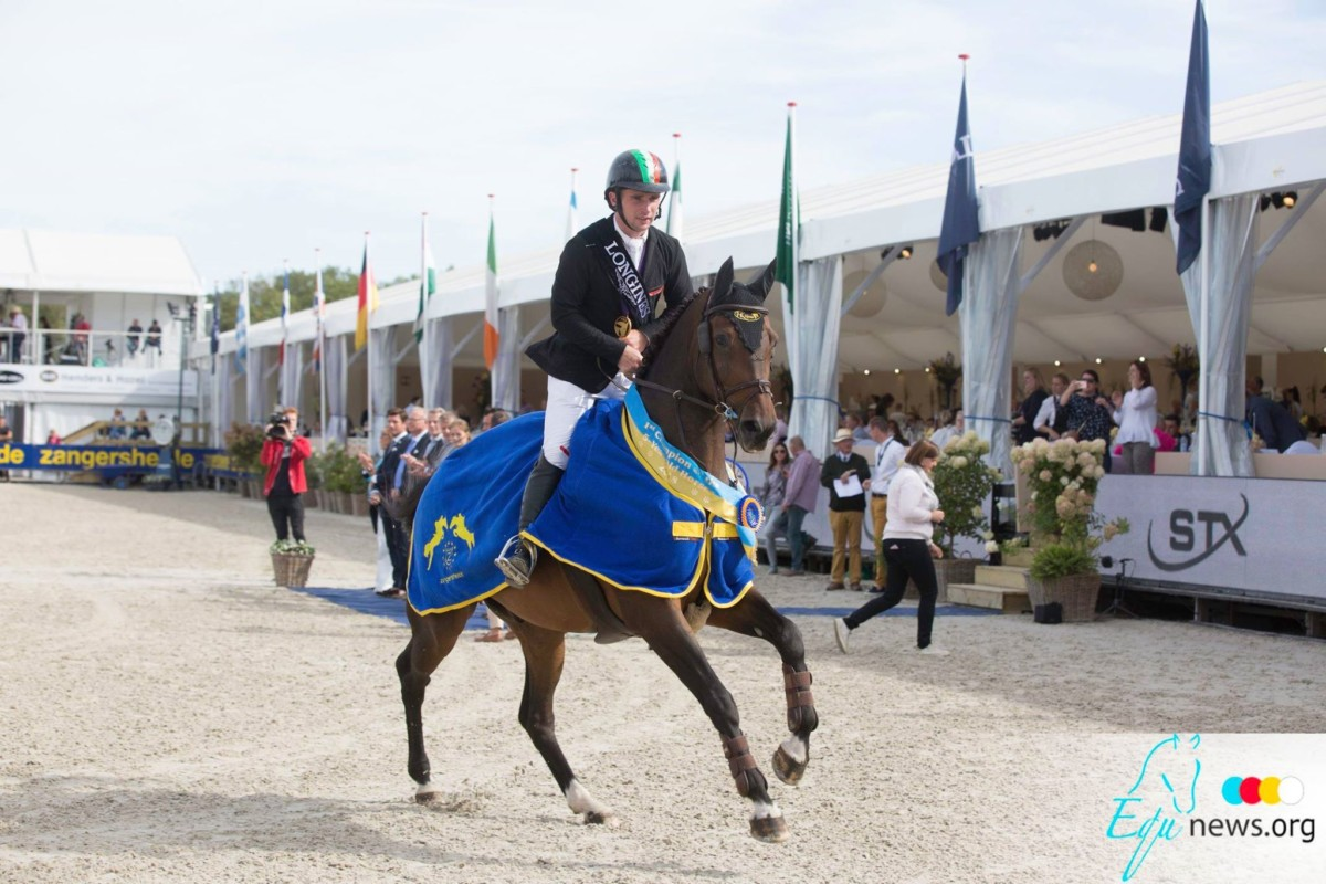 Richard Howley on first and second place in CSI2* Grand Prix Valencia