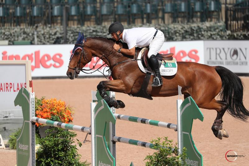 Parot Conquers $35,000 1.45m Sunday Classic CSI 2* to Conclude First Week of Tryon Fall Series