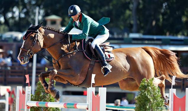 El Ghali Boukaa winst CSI4* Grand Prix Tetouan