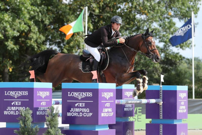 Eugenio Garza and Victer Finn Dh Z Are The Victors at SRJT Longines FEI Jumping World Cup Columbus CSI 3*-W