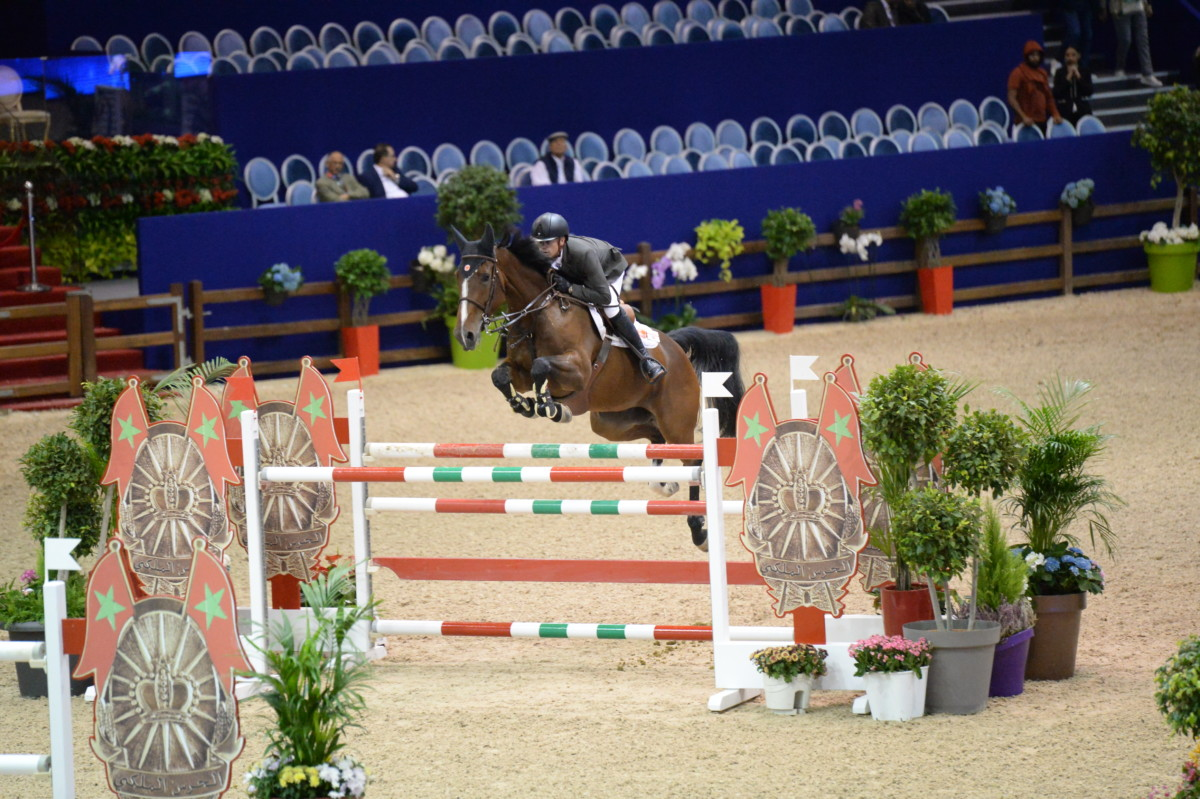 Jérome Guery on top in the Longines Ranking class of El Jadida