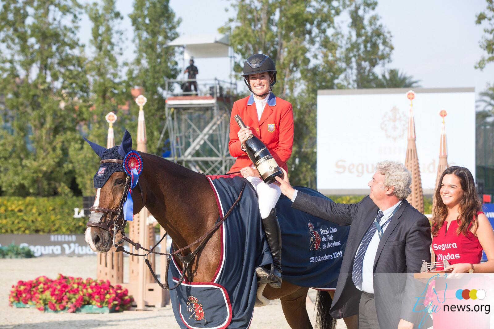 Springsteen flies to victory in Longines Grand Prix qualifier Falsterbo