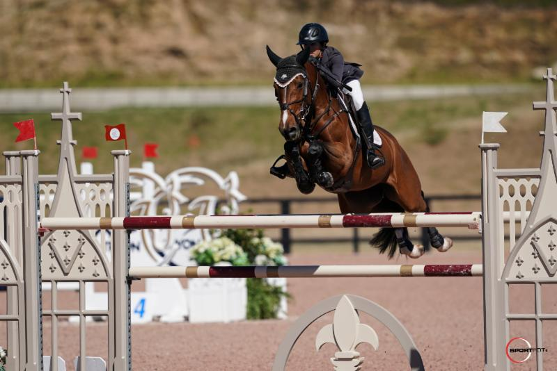 Gilbertson Glides to First in the $35,000 1.45m Tryon Resort Speed Stake CSI 5*